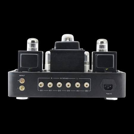 The Gemtune GS01-M Tube Amplifier Back Side