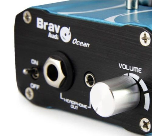 The Bravo Ocean Tube Amplifier Front Side